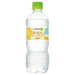 【送料無料】い・ろ・は・す スパークリングレモン 515ml PET 24本 炭酸飲料【1ケース】