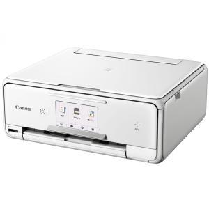 Canon プリンター インクジェット 複合機 PIXUS TS8030WH(ホワイト)