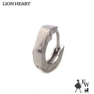 ライオンハートLION HEART ピアス ステンレス メンズ フープ 03EA0145SV シルバー エクセルワールド プレゼント アクセサリー|excelworld