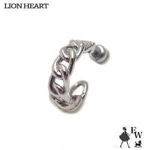 ライオンハートLION HEART ピアス ステンレス メンズ フープ 03EA0175SV シルバー エクセルワールド プレゼント アクセサリー|excelworld