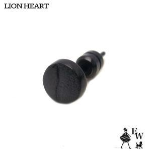 ライオンハートLION HEART ピアス ステンレス メンズ  03EA0205BK ブラック エクセルワールド プレゼント アクセサリー|excelworld
