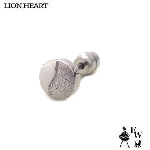 ライオンハートLION HEART ピアス ステンレス メンズ  03EA0205SV シルバー エクセルワールド プレゼント アクセサリー|excelworld