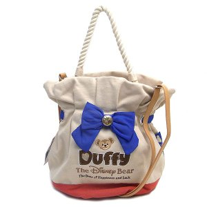 DUFFY ダッフィー  ダッフルバッグ  東京ディズニーシー限定  04875|excelworld