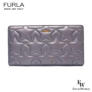 フルラ 財布 アウトレット 二つ折り長財布 1000275 FURLA 保存袋付 COLOR ARGENTO グレー|excelworld