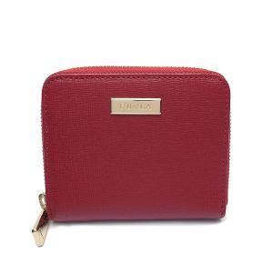 フルラ 財布 アウトレット 二つ折り財布 1005949 FURLA 保存袋付 ラウンドジップ CABERNET レッド|excelworld