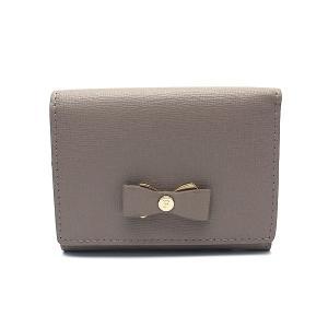 フルラ 財布 アウトレット 三つ折り財布 1041708 FURLA 保存袋付  SABBIA グレー|excelworld