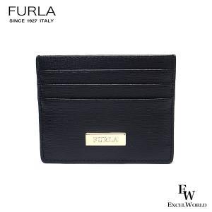 フルラ 財布 アウトレット カードケース 1055435 名刺入れ FURLA 保存袋付 NERO ブラック|excelworld