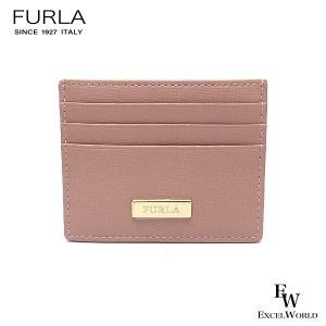 フルラ 財布 アウトレット カードケース 1055575 名刺入れ FURLA 保存袋付 MOONSTONE ピンク|excelworld