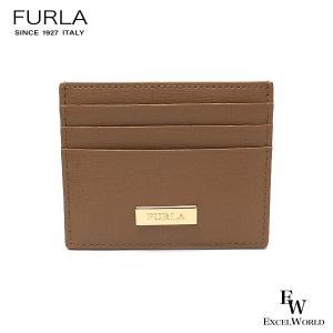 フルラ 財布 アウトレット カードケース 1066252 名刺入れ FURLA 保存袋付 DESERT ライトブラウン|excelworld
