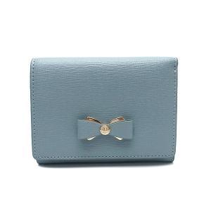 フルラ 財布 アウトレット 三つ折り財布 1067987 FURLA 保存袋付  AVIO ライトブルー|excelworld
