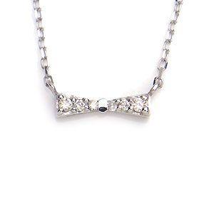 K10 WG ネックレス ダイヤモンド 0.04ct 1284118 excelworld