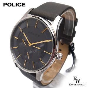 ポリス POLICE 時計 腕時計 14701JS 61 ステンレス ビジネス クロノウォッチ 5気圧防水 カレンダー表示 2年保証 メーカー正規品|excelworld