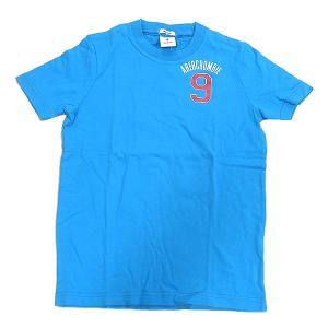 abercrombie アバクロンビー キッズ Tシャツ ターコイズ Sサイズ|excelworld
