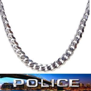 POLICE ポリス ネックレス ステンレス 25490PSS01 エクセルワールド アクセサリー プレゼントにも|excelworld