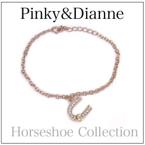 ピンキー&ダイアン ブレスレット Horseshoe  ホースシュー  3276 エクセルワールド ブランド プレゼントにも excelworld