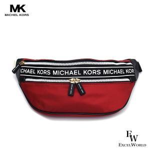 マイケルコース バッグ アウトレットボディーバッグ  ウェストバッグ 35H9GY9N6C SCARL Michael Kors レッド ショルダーバッグボディーバック excelworld
