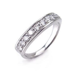 スイート10 PT950 リング ダイヤモンド ダイヤカット 0.5ct 508112 excelworld