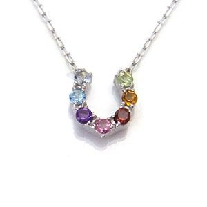 K10 WG Multi-color&Amulet アミュレット ネックレス 508244|excelworld