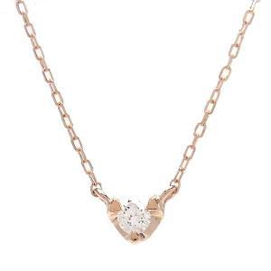 K10 PG ネックレス ダイヤモンド 0.05ct 515660 excelworld
