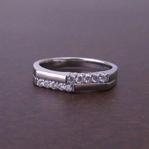 スイート10 PT リング ダイヤモンド 0.2ct 595009 excelworld