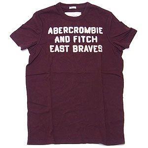 Abercrombie&Fitch アバクロンビー&フィッチ Tシャツ メンズ  ワイン Mサイズ excelworld