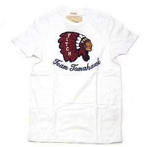 Abercrombie&Fitch アバクロンビー&フィッチ Tシャツ メンズ  Lサイズ ホワイト excelworld