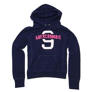 Abercrombie&Fitch アバクロンビー&フィッチ パーカー ネイビー XSサイズ レディース|excelworld