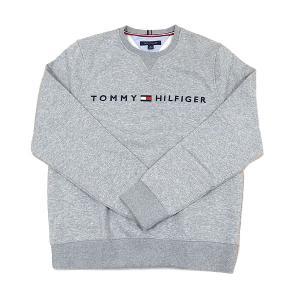 トミーヒルフィガー  トレーナー スウェット あったか裏起毛 TOMMY HILFIGER 78D8989 GREY グレー|excelworld