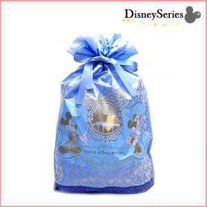 東京ディズニーリゾート限定 ギフト用袋 ぬいぐるみSサイズに最適 Mサイズ D-GIFT-M-BLUE2 ブルー|excelworld