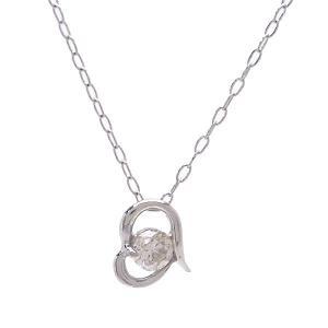 PT ネックレス ダイヤモンド 0.1ct DN5805A excelworld