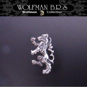 WOLFMAN B.R.S ウルフマン ピアス ウルフスタッド(左耳用) エクセルワールド アクセサリー ブランド プレゼントにも|excelworld