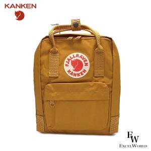 フェールラーベン ミニ リュックサック KANKEN カンケン F23561 バックパック レディース メンズ FJALLRAVEN 166 ブラウン ACORN|excelworld