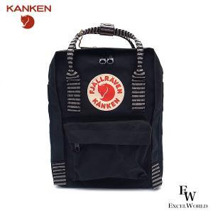 フェールラーベン ミニ リュックサック KANKEN カンケン F23561 バックパック レディース メンズ FJALLRAVEN 550-901 ブラック/ストライプ BLACK STRIPE|excelworld
