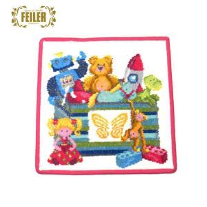 フェイラー Feiler ハンカチ タオル おもちゃ箱 25cm×25cm ピンク 143081 excelworld
