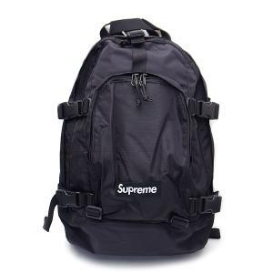 新品 シュプリーム Supreme バッグ バックパック リュック 直営店買付 本物 2019AW FW19B8 BLACK CORDURAナイロン ブラック|excelworld