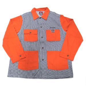 新品 シュプリーム Supreme メンズ ワークシャツ  Ben Davis L 直営店買付 本物 2019AW FW19J92 HICKRY STRRIP ヒッコリーストライプ Lサイズ|excelworld