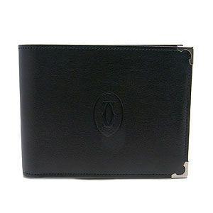 CARTIER カルティエ 財布 カボション 二つ折り財布 L3000575 ブラック excelworld