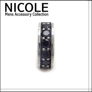 ニコル ピアス シルバー メンズ 片耳用 NC-LE63 エクセルワールド アクセサリー プレゼントにも|excelworld