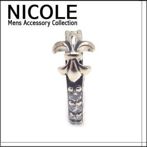 ニコル ピアス シルバー メンズ 片耳用 NC-LS127 エクセルワールド アクセサリー プレゼントにも|excelworld