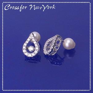Cross For New York クロスフォー ニューヨーク Dancing Stone スウィングピアス NYE-106 エクセルワールド アクセサリー プレゼントにも excelworld