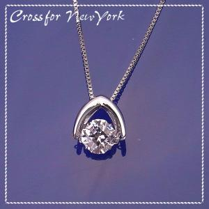 Cross For New York クロスフォー ニューヨーク Dancing Stone スウィングネックレス NYP-533 エクセルワールド アクセサリー プレゼントにも excelworld