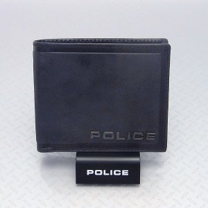 POLICE ポリス メンズ 二つ折り財布 EDGE エッジ  ブラック PA-58000-10|excelworld