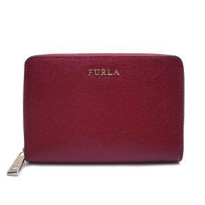 フルラ 財布 レディース 二つ折り財布 FURLA PT16 B30 CGQ 984313 ラウンドジップ レッド エクセルワールド ウォレット  ブランド プレゼントにも|excelworld