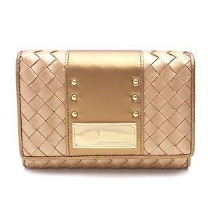 Pinky Wolman ピンキーウォルマン 二つ折り財布 ドルチェ PW31901-L ゴールド|excelworld