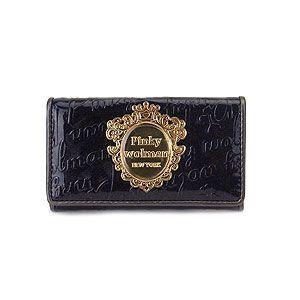 Pinky Wolman ピンキーウォルマン キーケース ニーノ 4連 PW56204-B ブラック エクセルワールド ブランド プレゼントにも|excelworld