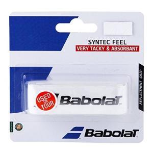 Babolat(バボラ) テニス 交換用グリップ シンテックフィール BA670054 ホワイト(0...