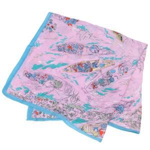 【SALE 10】manipuri マニプリ scarf コットンシルクストール 120×120 レディース0111333011 STOLE FLOAT MARKET PINK exclusive