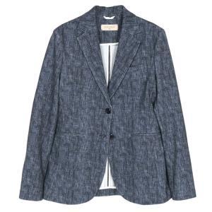 【SALE 40】CIRCOLO 1901 チルコロ 1901 転写プリントジャージージャケット レディース 21春夏 OBLU/BLUE ORCH/PINK 1154-188514 exclusive