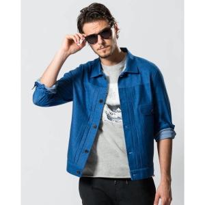 【SALE 50】wjk LYCRA deni-shirt 2973cj11 【 ライクラ ニットデニム ジャケット 】【MENS】|exclusive