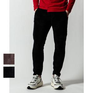【SALE 50】wjk ダブルジェイケイ fleece boa skinny フリースボアスキニー メンズ 20aw 72/moca 99/black 5947cf84s|exclusive